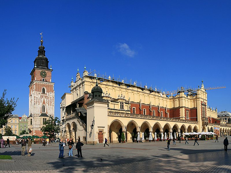 Krakow –  Plac Nowy ve Ana Meydan-St. Marry Bazilikası